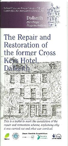 cross keys cover of leaflet